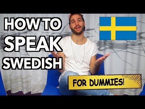 LEARN SWEDISH (Sweden for Dummies!) - YouTube