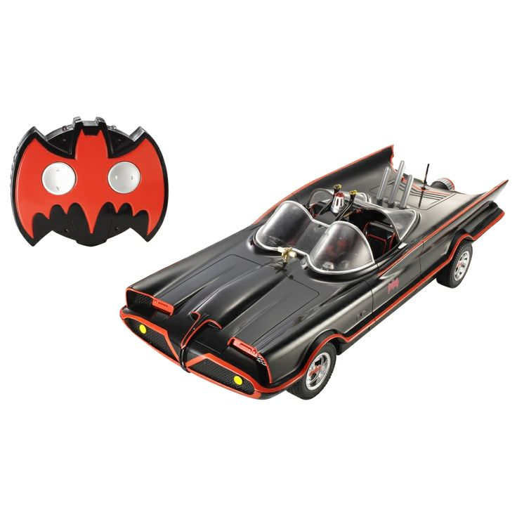1966 batmobile rc remote control car vehicles batman dc comic and movie hero licensed character toys
