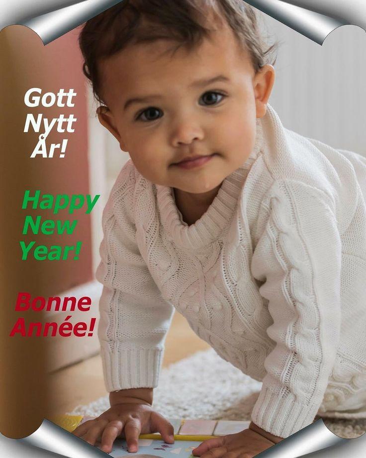 Gott Nytt År! Happy New Year! Bonne Annee!  #newyear2018