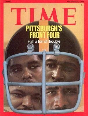 steelers+1975 #timemagazine steel curtain