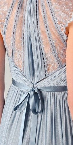 "Catherine Deane ""Laverne"" Dress Detail -it's a bit revealing at the front but the back is beautiful!  Bridesmaids!!!"
