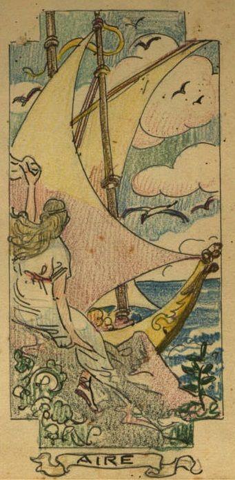 Quadern de dibuix de Joaquim Renart. 31, Realitzat entre el 29 de gener i el 24 de juliol de 1923 :: Materials gràfics (Biblioteca de Catalunya)