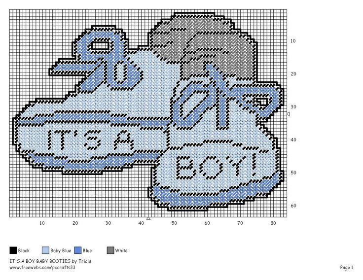 BABY BOOTIES - BOY