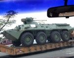 Taken in Puerto Cabelleo - looks like Russian BTR-60's being unloaded onto the docks and being transported into the Venezuelan state of Carabobo. Russia is Venezuela's largest supplier of weapons and armored vehicles.