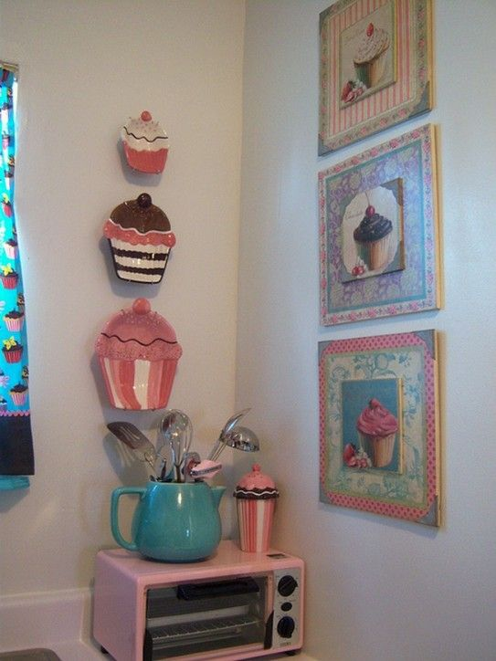 Cupcake Kitchen Decor Amazing Ideas For Your Pinterest And