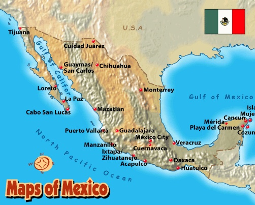 Más De Ideas Increíbles Sobre Mapa De Mexico En Pinterest - Mapa de mexico