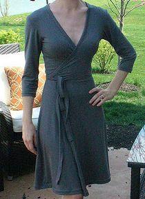 Tutorial para hacer vestidos cruzados.