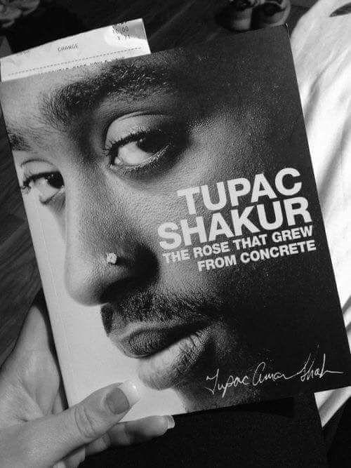 Tupac Shakur book of Poetry.