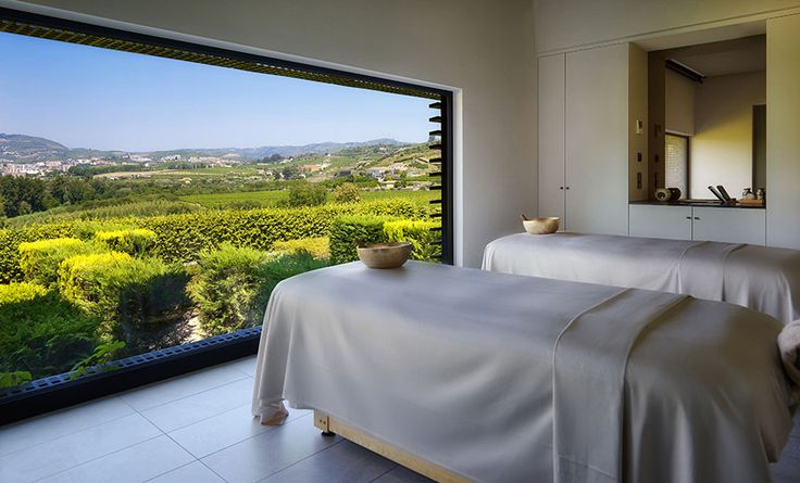 Spa treatment room, Six Senses Spa Douro Valley, Portugal  http://www.sixsenses.com/resorts/douro-valley/spa