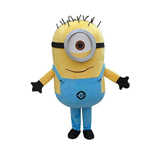 Buy Maconaz Despicable Me Minions Mascot Costume Cosplay Costumes  **    All the photos is subject to material object** **    Materials: EPE Materials, PP Plush Cotton** **    Color£ºas picture** **    S,M,L in stock,If you need other size, please email us.**  Buy From Amazon  http://www.amazon.com/gp/product/B0130RATVY?tag=canreb0c-20