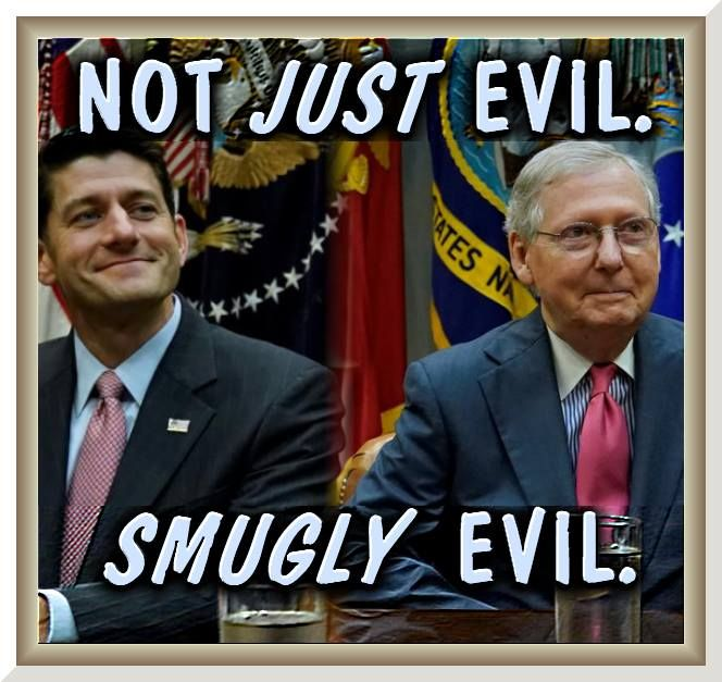 Republican House Speaker Paul Ryan and Senate Majority Leader Mitch McConnell