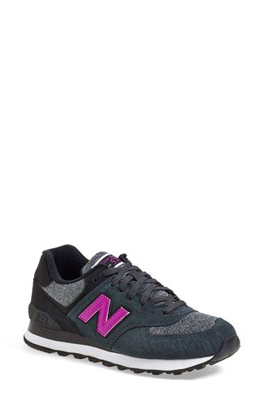 Free shipping and returns on New Balance '574' Sneaker (Women) at Nordstrom.com. Loaded with retro detailing, an old-school runner's sneaker features layered-panel construction and a throwback silhouette.