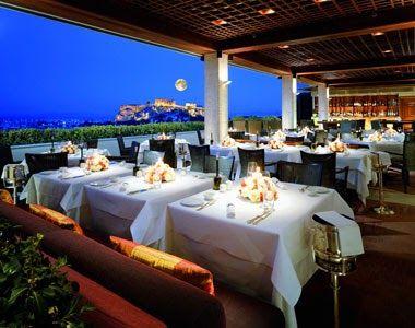 The Grand Bretagne Hotel in Athens, Greece