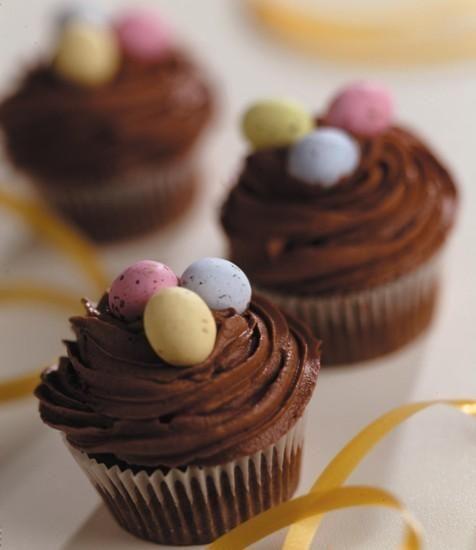 Cupcakes de Pâques au chocolat Recette | Dr. Oetker