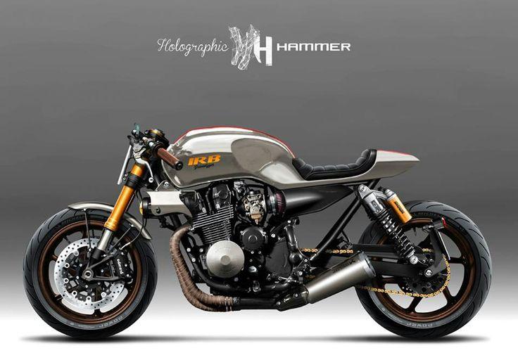 Yamaha XJR1200 'Sunburn' by it roCkS bikes, Holographic Hammer