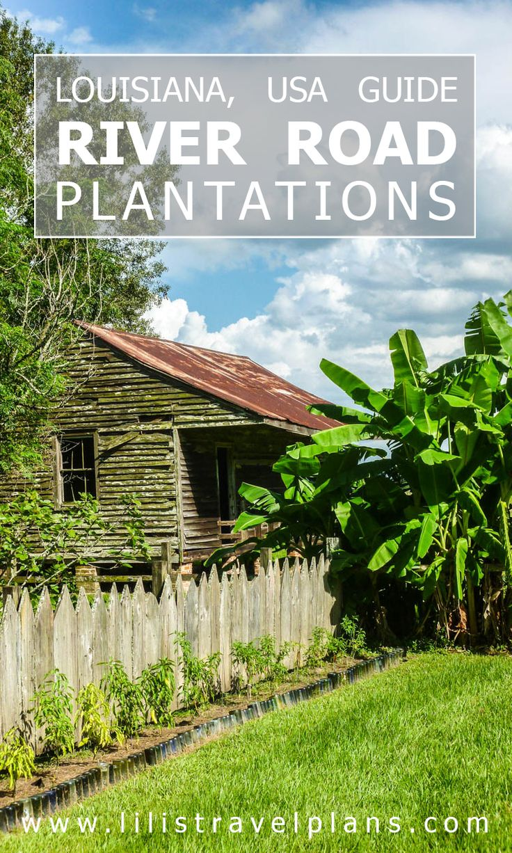 GUIDE: Mississippi river plantations, Louisiana, USA