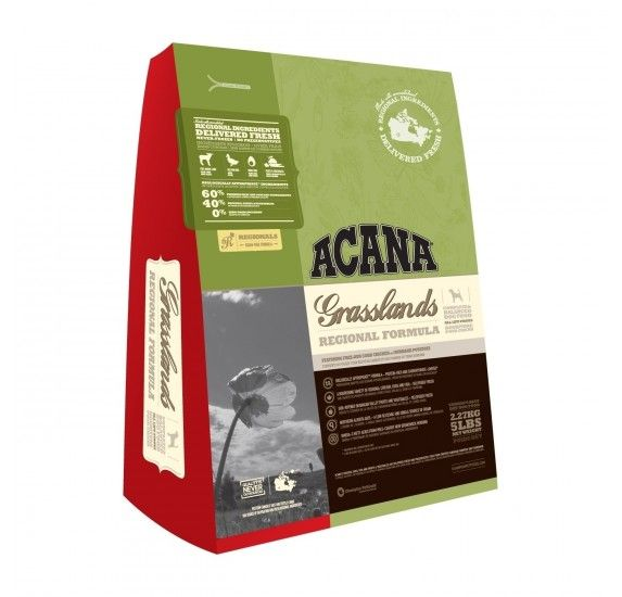 ACANA Grasslands Dogs - Pienso para perros www.theyellowpet.es