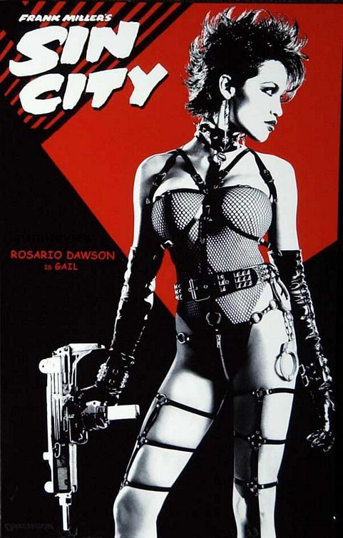 Sin City (Robert Rodriguez & Frank Miller, 2005).