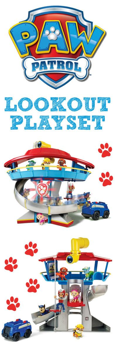 Paw Patrol Look Out Playset 3494 Amazon Canada