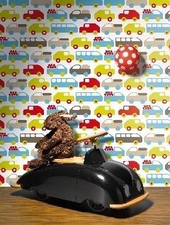 Funkywalls verkoopt naast vintage behang ook nieuw behang, vooral origineel en betaalbaar kinderbehang van goede kwaliteit.