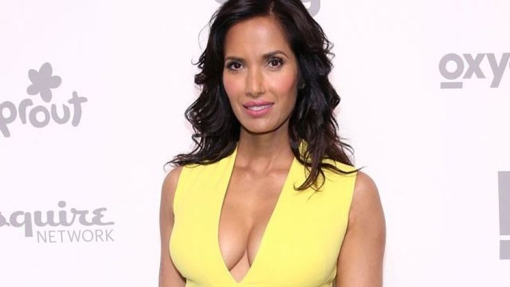 """""""Top Chef"""" host Padma Lakshmi was allegedly threatened in 2014 while filming the competition show in Boston. (2015 Getty Images)"""