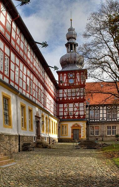 Herzberg am Harz, Innenhof und Turm