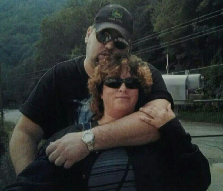 Your 38 th birthday  trip to Cherokee.  In practically every pic you got your arm around me or you have me put mine around you. It alwsys  gave me the best feeling in the world. You had such strong hands and the hair excited me. Never happened  before. 2012