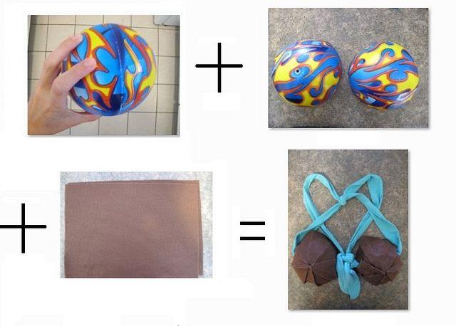 How To Make a Coconut Bra by eyeliah, via Flickr