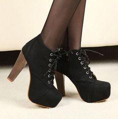 Botas Negras! Hermosas ❤ ❤ ❤