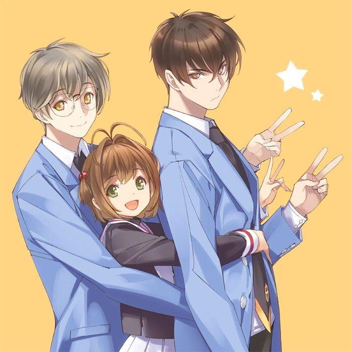 Yukito & Sakura & Touya | Card Captor Sakura #anime
