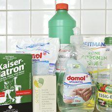 Willst du auch deine Putzmittel selber machen? Dann brauchst du nur diese einfachen Zutaten für deine DIY-Putzmittel!