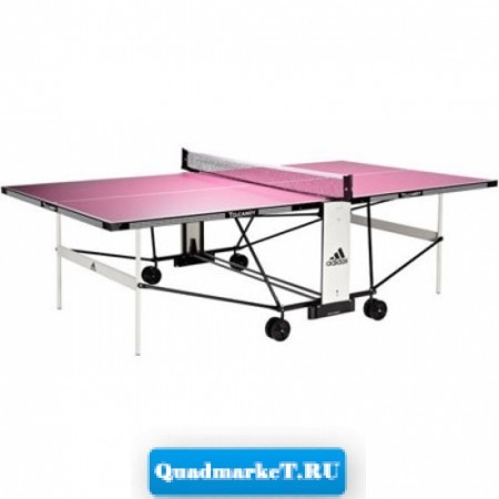 Всепогодный теннисный стол Adidas To.Candy (розовый)