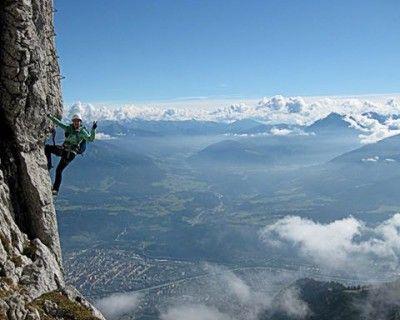 Klettersteig Rakousko : Innsbrucker klettersteig příroda mountains innsbruck a