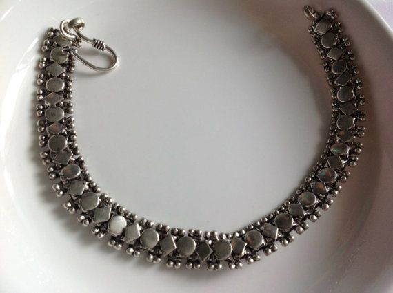 Anklet Silver Finished Anklet boho Anklet от Straightfromheart