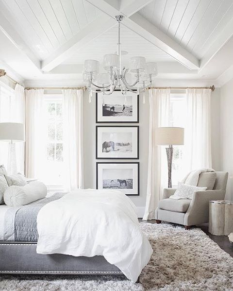 Best 20 cozy white bedroom ideas on pinterest white for Modern master bedroom ideas pinterest