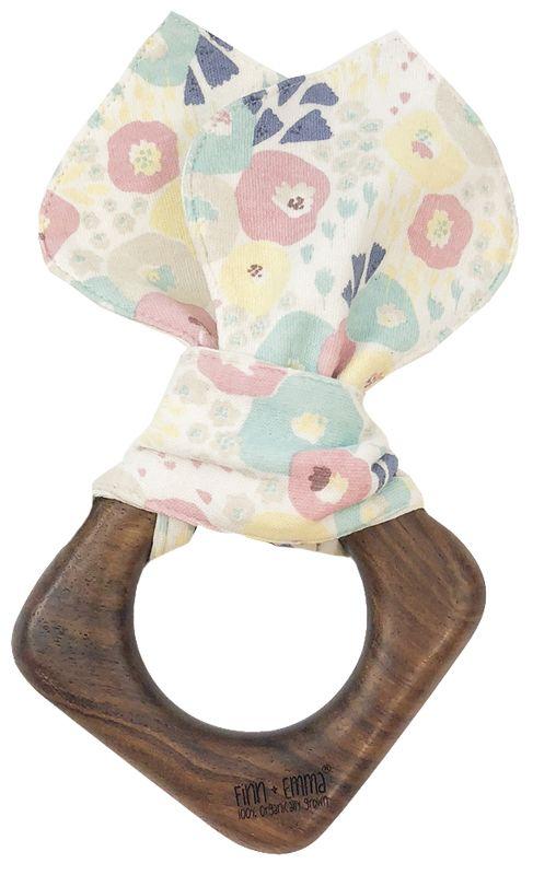 d1495619e23c Wildflowers Organic Wooden Teething Ears