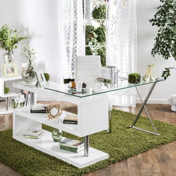 Best Deal Home Furniture: Furniture Of America Marisa Contemporary High Gloss