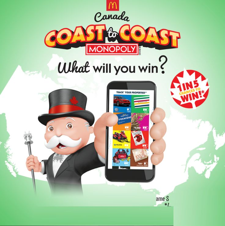 Mcdonalds mcdpromotionca contest track monopoly game