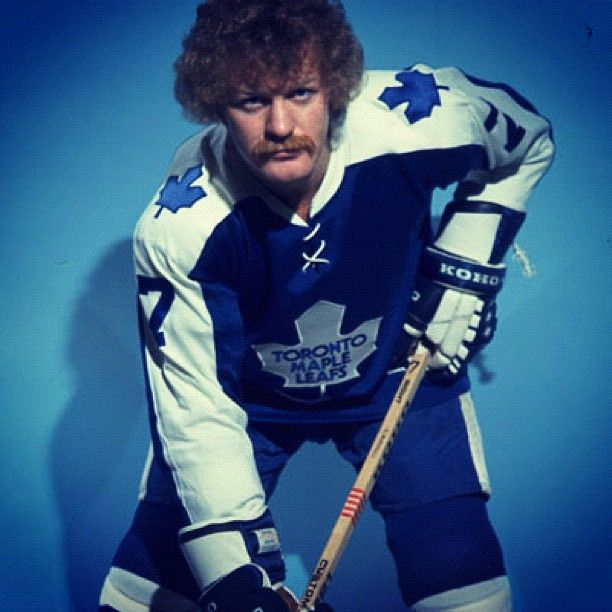 Lanny McDonald rocking his famous 'stache