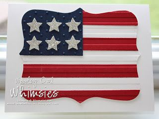 Woodsy Owl's Whimsical World: Happy 4th of July Stampin' Up! style