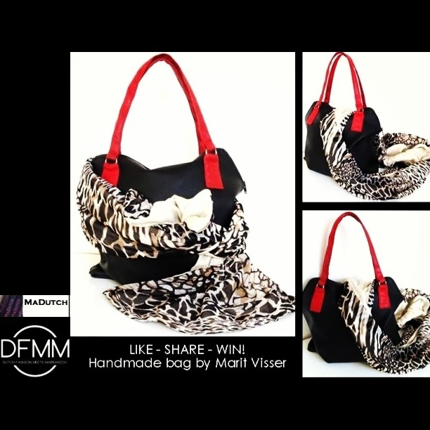 Share like and win this custom made handbag for madutch by marit visser