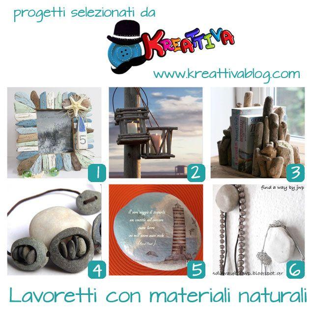 Kreattivablog: 18 lavoretti realizzati con materiali naturali [raccolta]