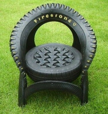 25 best ideas about tire chairs on pinterest diy chair for How to make tire furniture