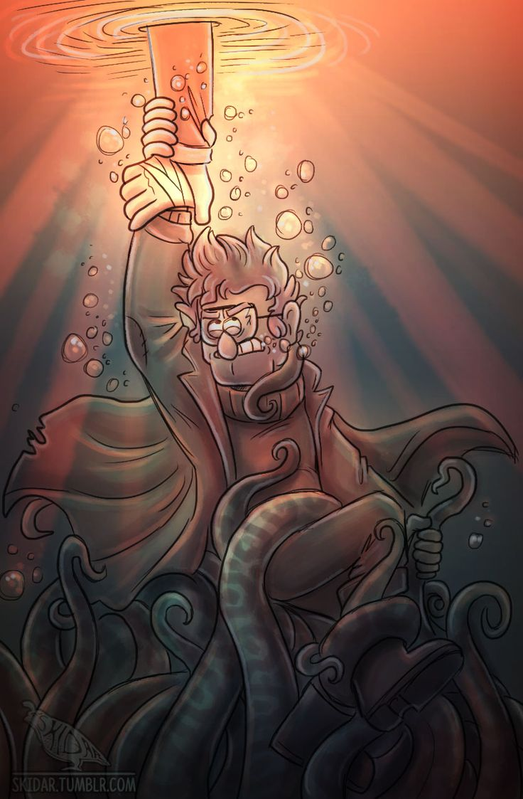 OP: Lake Monsters - Always bring a buddy for backup. | Gravity Falls