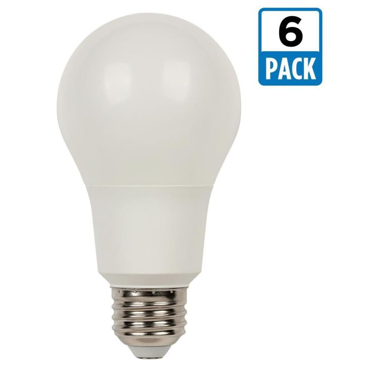 Westinghouse 75W Equivalent Bright White Omni A21 Dimmable LED Light Bulb (6-Pack)