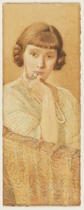 Rene Hymes, c.1925, watercolour drawing by May Gibbs. From the collections of the Mitchell Library, State Library of New South Wales www.sl.nsw.gov.au...