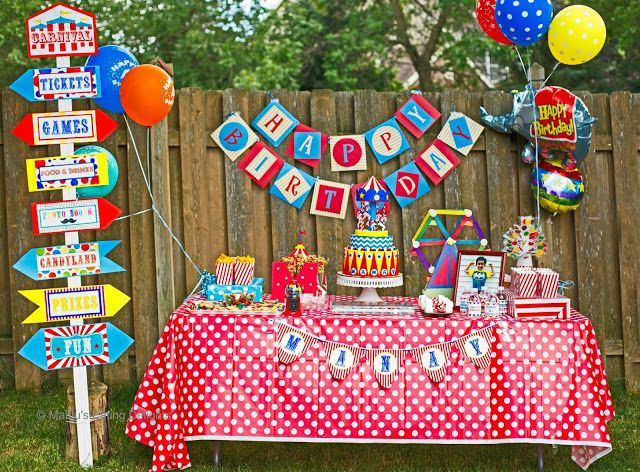 7 best birthday party themes and ideas images on pinterest birthday party themes birthday - Carnival theme party for adults ...