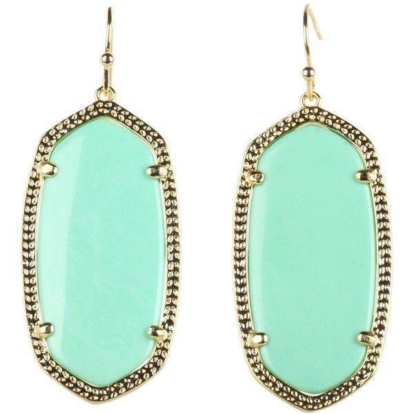 Kendra Scott Elle Earring ($55) ❤ liked on Polyvore featuring jewelry, earrings, 14k jewelry, iridescent jewelry, kendra scott, 14 karat gold jewelry and kendra scott jewelry