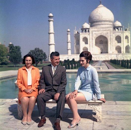 Nicolae Ceausescu Taj Mahal palace India
