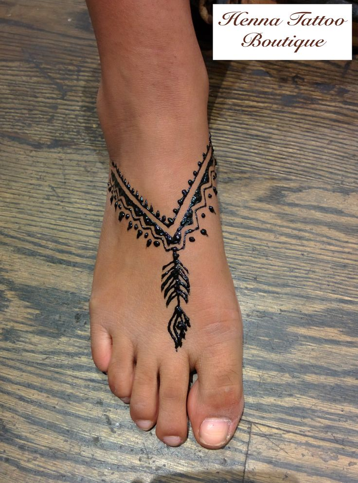 boho feet henna tattoo designs:)